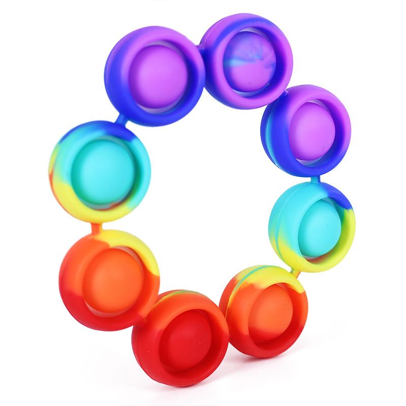 POP IT náramek 8 bublin