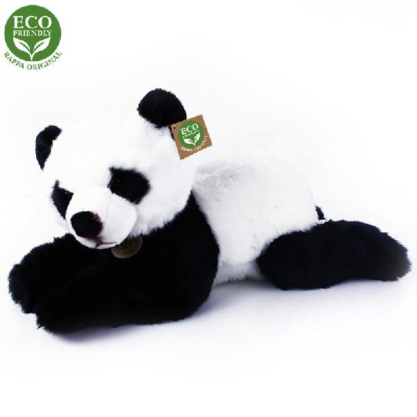 Plyšová panda ležící 43 cm ECO-FRIENDLY