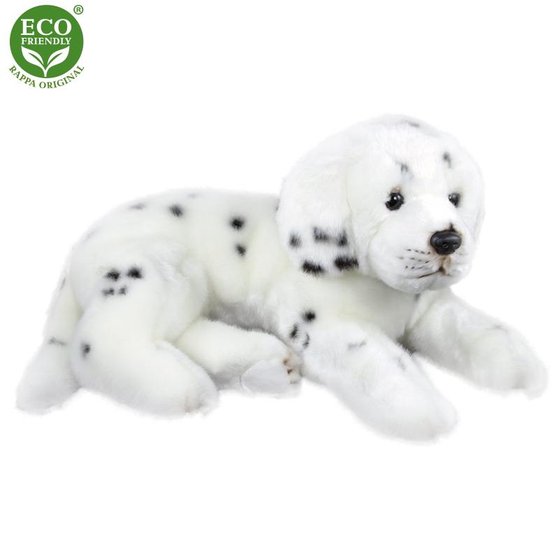 Plyšový pes dalmatin ležící 38 cm ECO-FRIENDLY