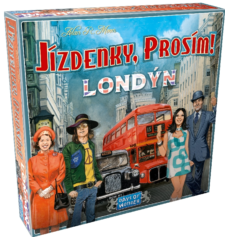 Hra Jízdenky, prosím! Londýn