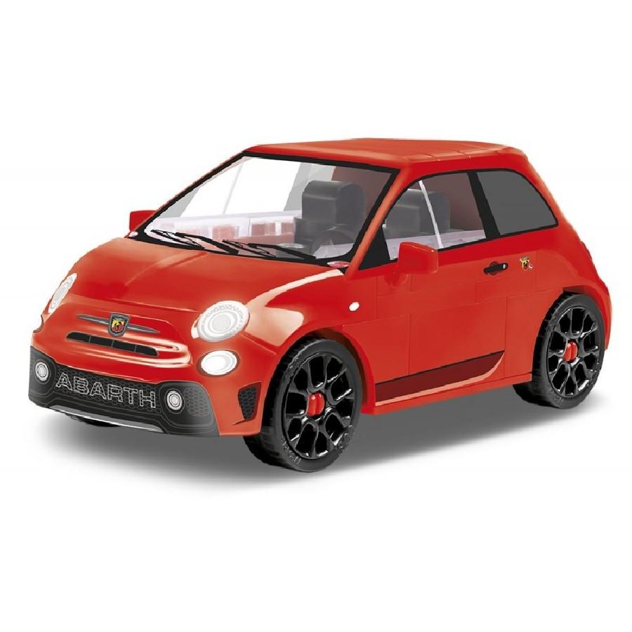 Stavebnice Fiat Abarth 595, 1:35, 71 k