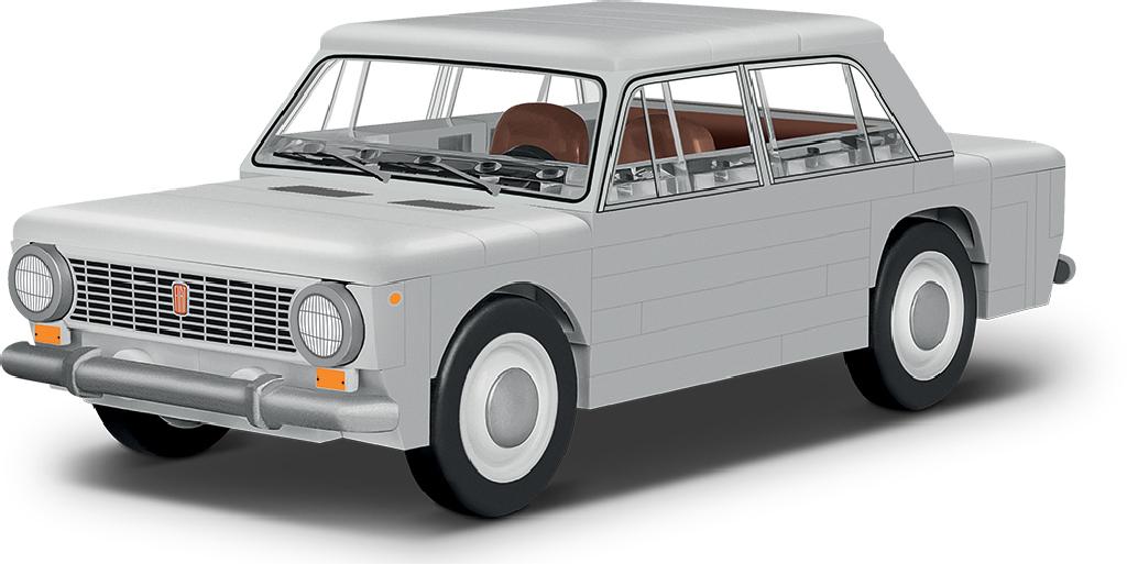 Stavebnice Fiat 124 Berlina 1200, 1:35, 93 k