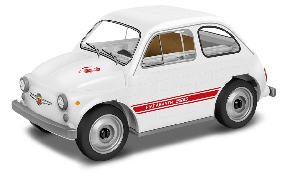 Stavebnice Fiat 500 Abarth 595, 1:35, 70 k