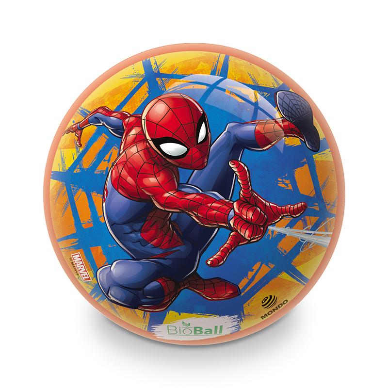 Míč nafouknutý Spiderman 23 cm BIO BALL