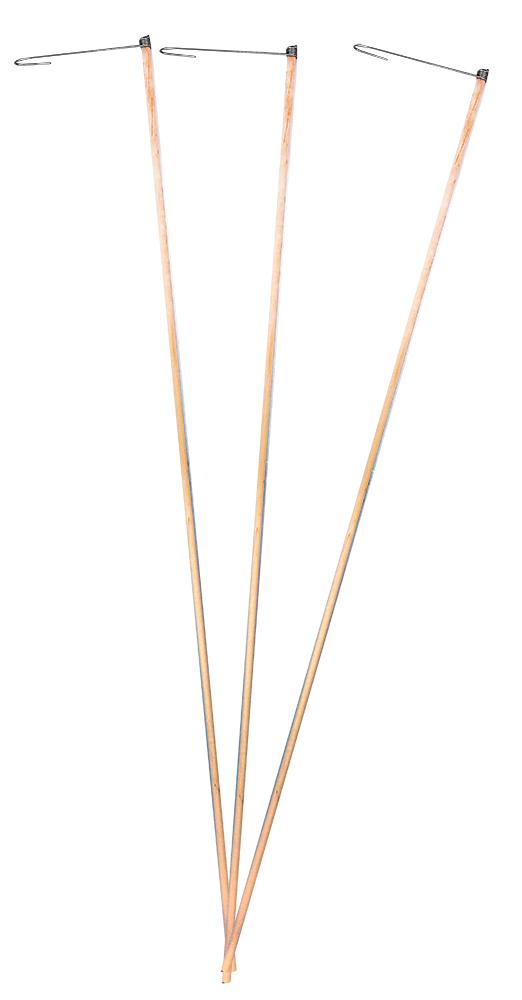 Hůlka dřevěná na lampion 60 cm
