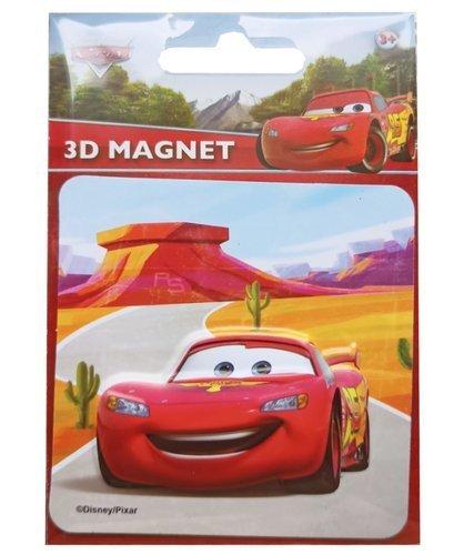 Magnetky 3D Disney Cars/Auta 9x13 cm