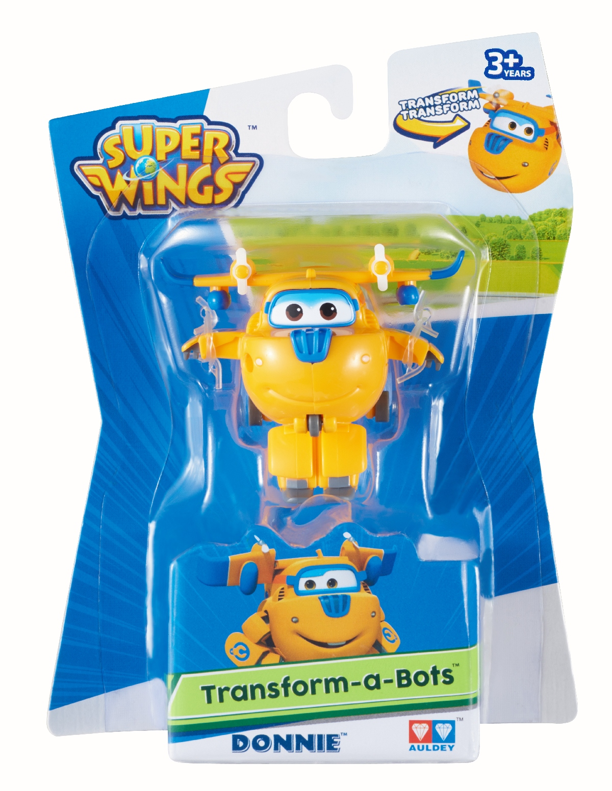 Super Wings - Transformuj Robota - Donnie