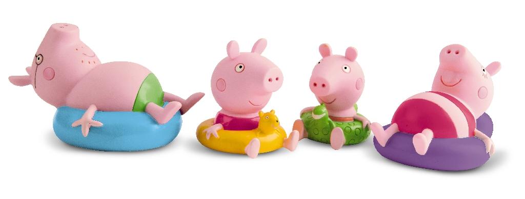 Peppa Pig figurky do koupele 2 ks