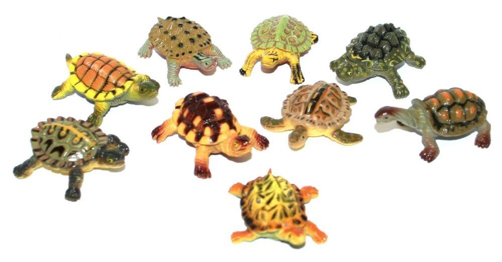 Želvy 9 ks v sáčku