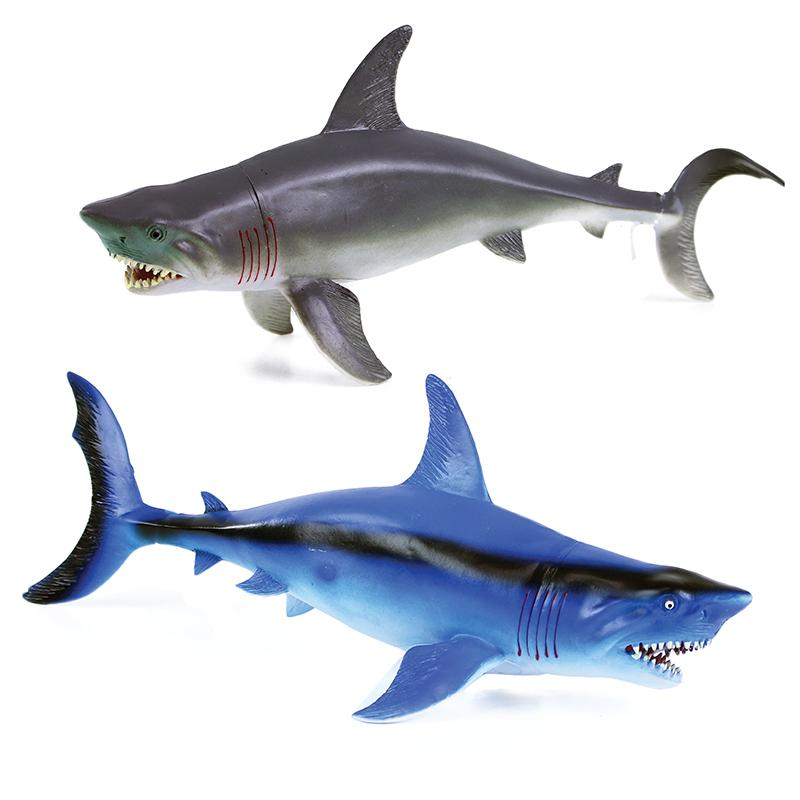 Žralok 2 druhy 34 cm