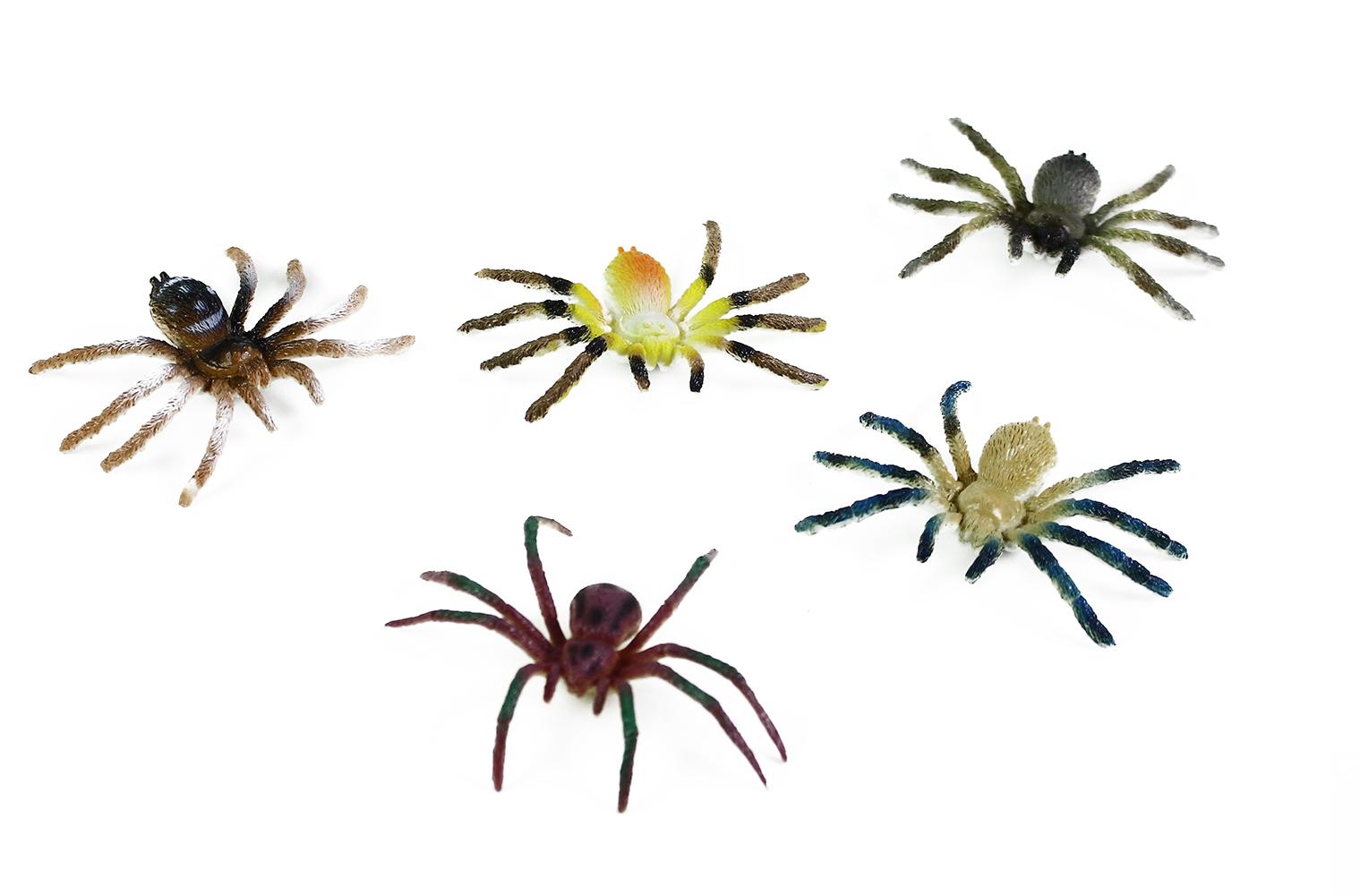 Pavouci 5 ks v sáčku 2 druhy