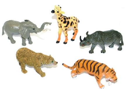 Zvířata divoká větší 5 ks v sáčku