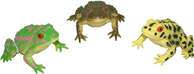 Žába se zvukem 8 cm 2 druhy