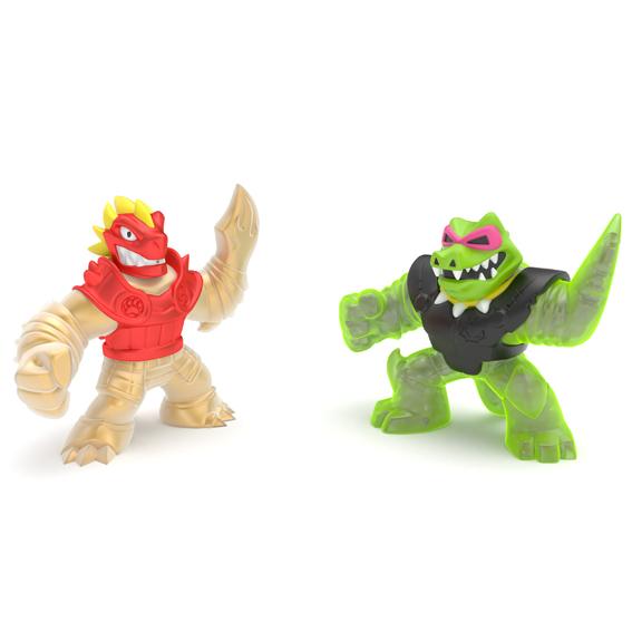 GOO JIT ZU figurky BLAZAGON vs. ROCK JAW dvoubalen