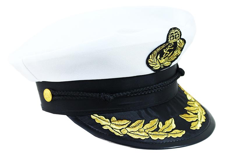 Dětská čepice Kapitán námořník