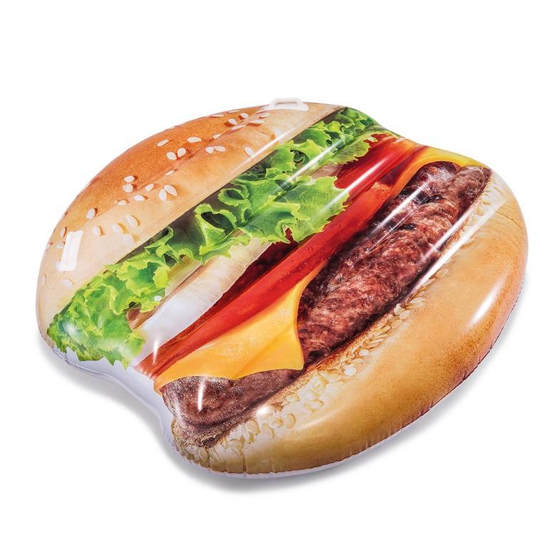 Nafukovací lehátko Hamburger 145 x 142 cm