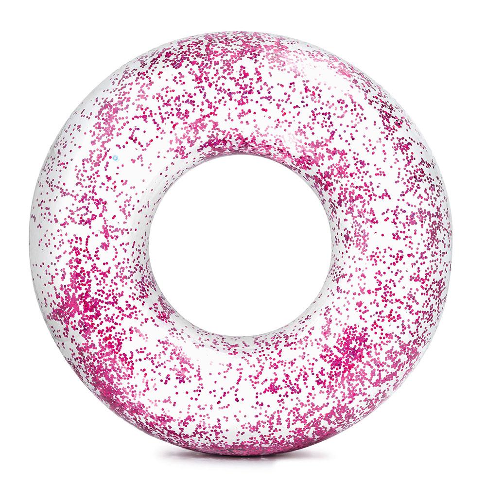 Nafukovací kruh flitrový 107 cm 2 barvy