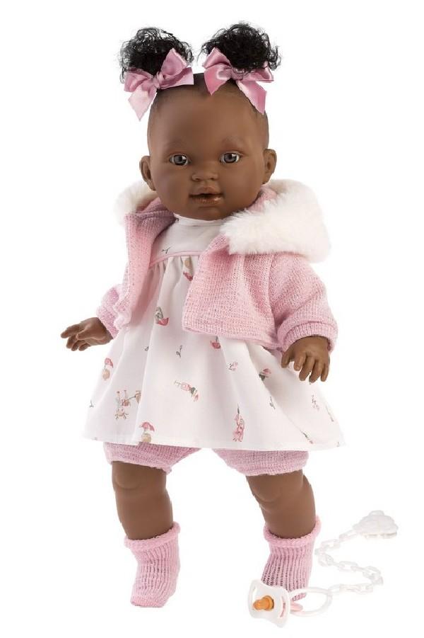 DIARA - realistická panenka se zvuky 38 cm