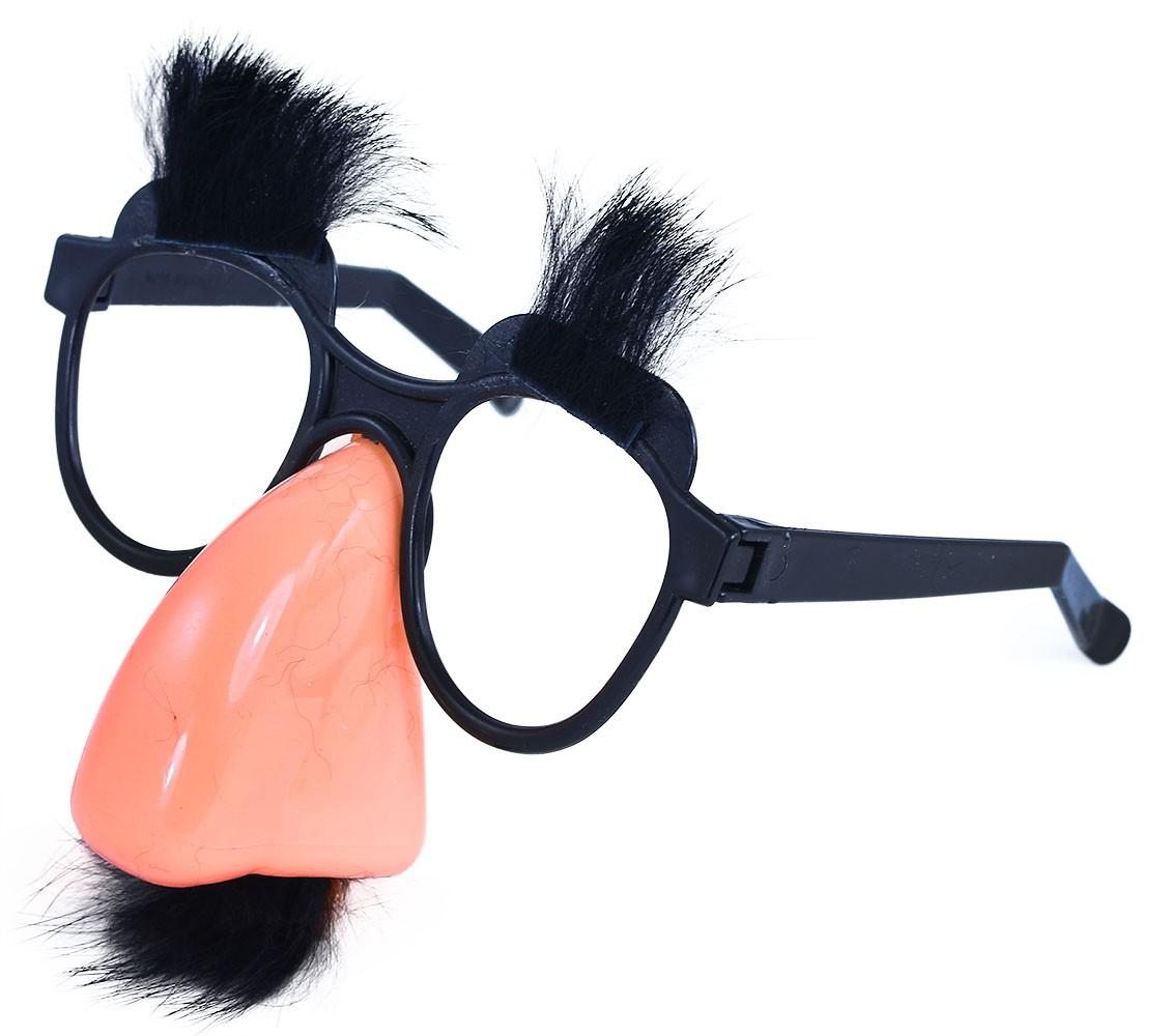 Brýle s nosem a knírem