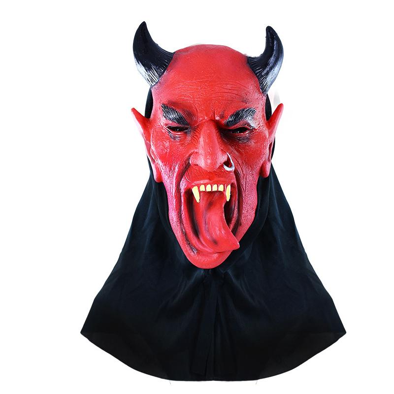 Maska čert s jazykem