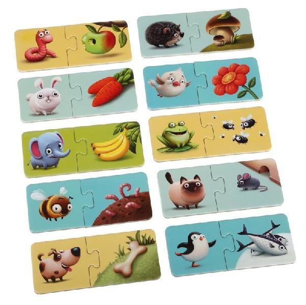 Mé jídlo - naučné puzzle 20 dílů