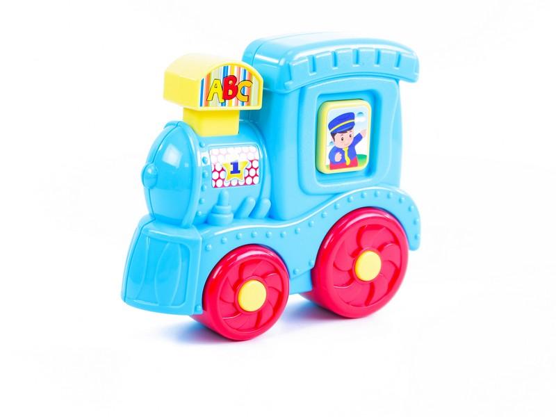 BABY lokomotiva se zvukem a světllem