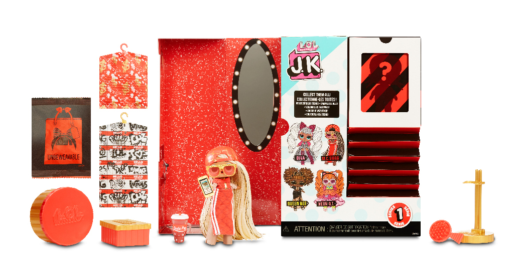 L.O.L. Surprise! J.K. Doll- M.C. Swag