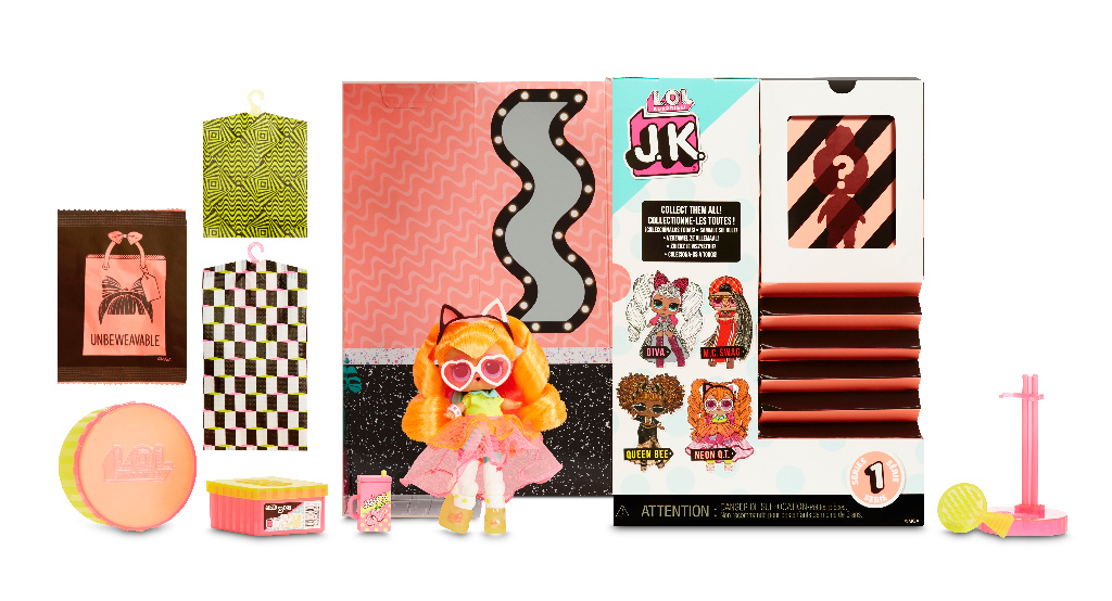 L.O.L. Surprise! J.K. Doll- Neon Q.T.