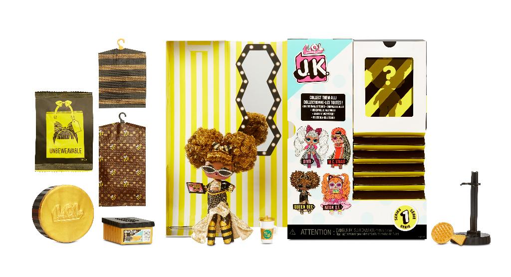 L.O.L. Surprise! J.K. Doll- Queen Bee