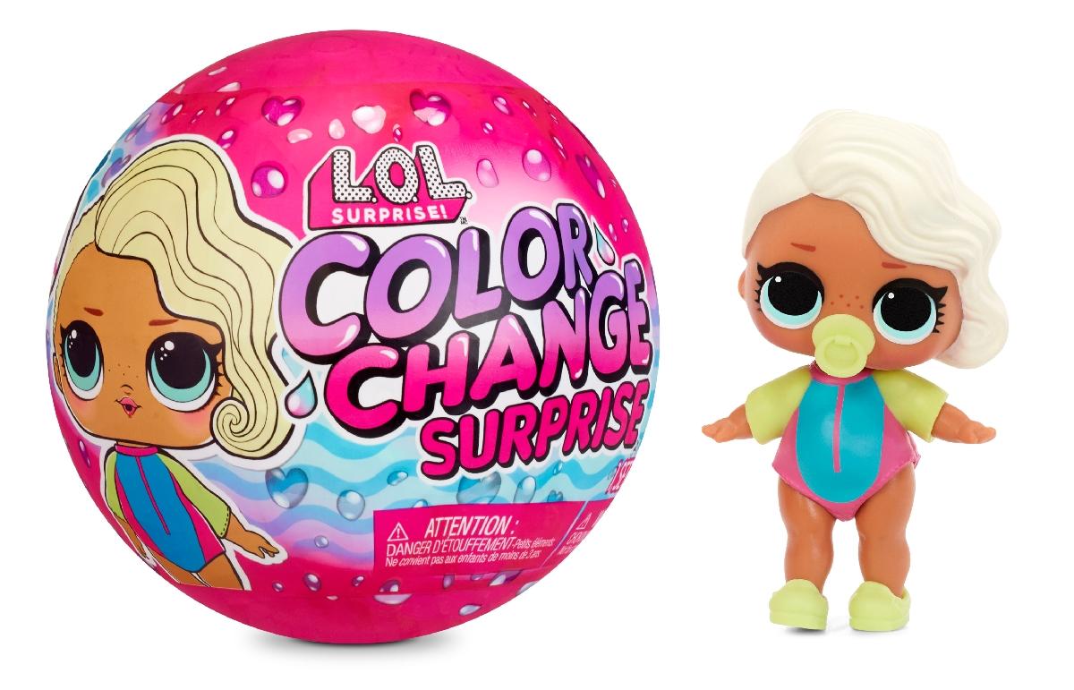 L.O.L. Surprise! Panenka se změnou barvy