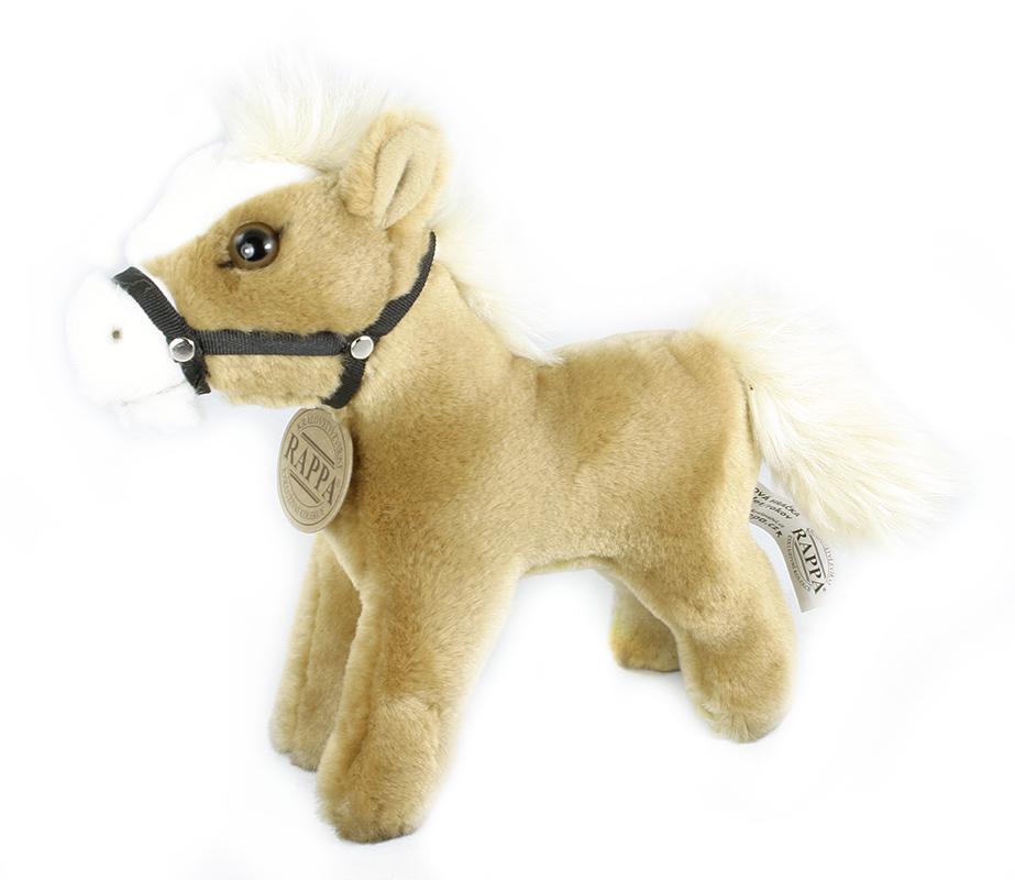 Plyšový kůň stojící 21 cm ECO-FRIENDLY