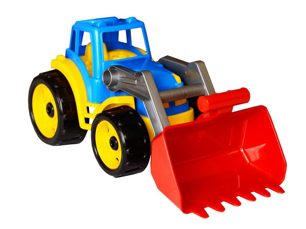 Traktor plastový se lžicí