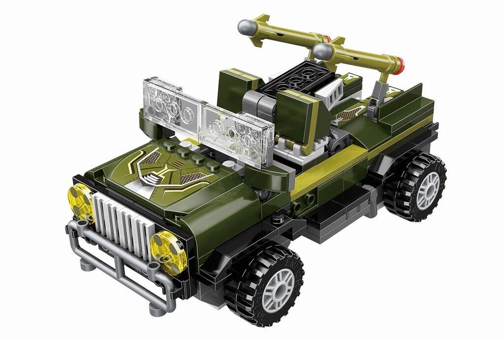 Stavebnice Qman Blast Ranger 3307 Jungle Lurker