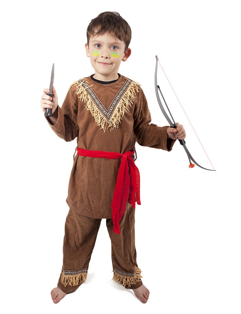 Dětský kostým indián s šátkem (S)