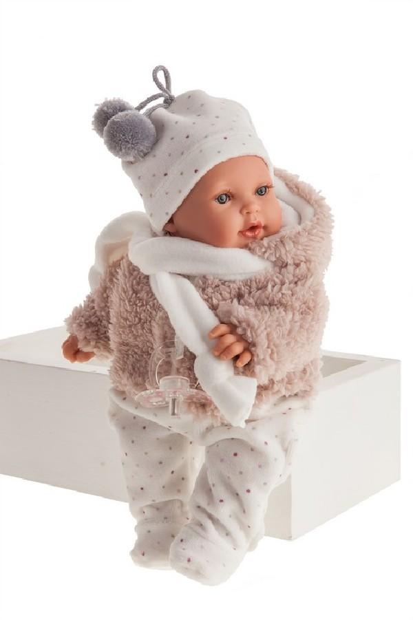 KIKA - realistická panenka se zvuky 27 cm
