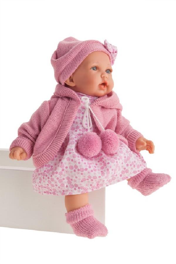 PETIT - realistická panenka se zvuky 27 cm