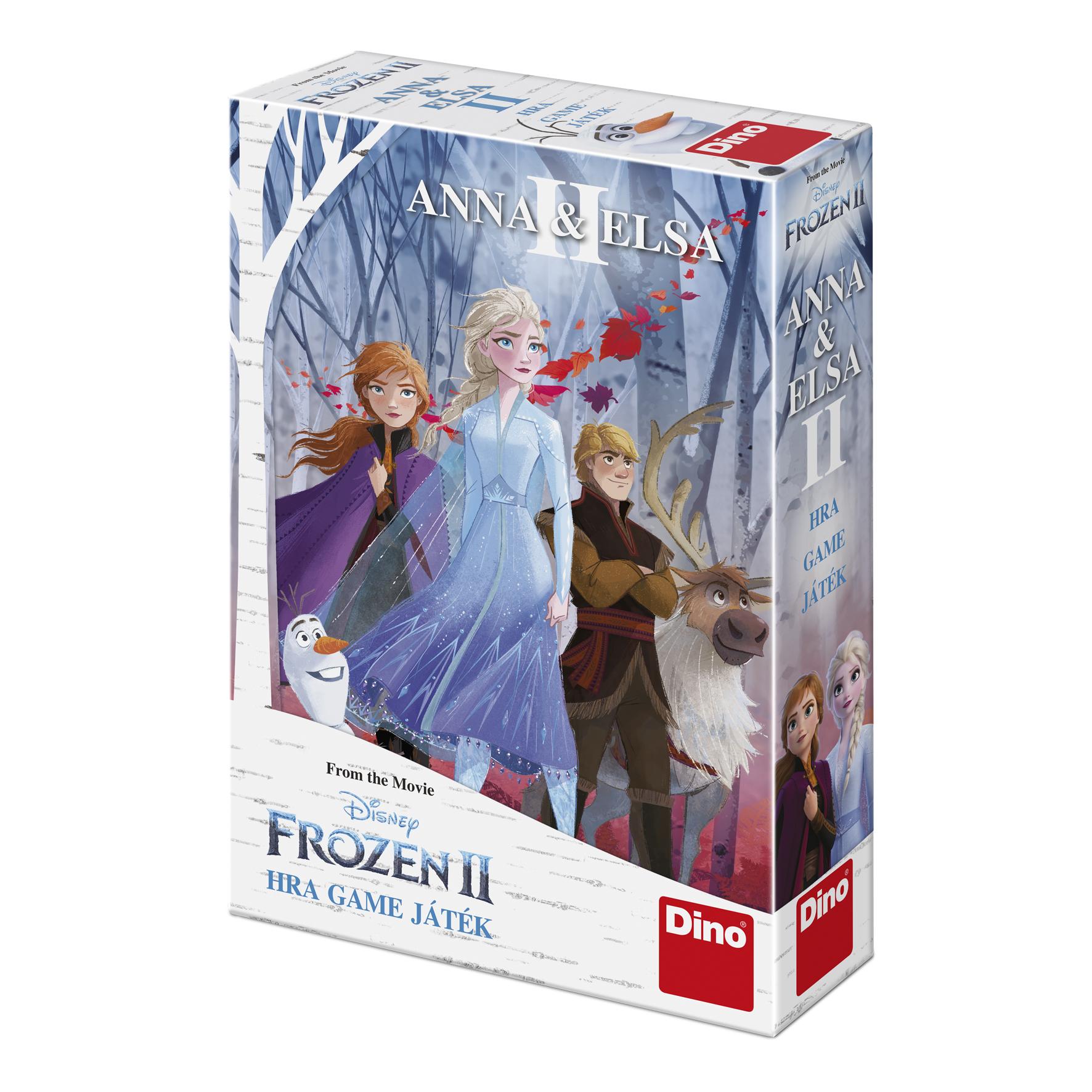Hra Anna a Elsa FROZEN 2 - Ledové království