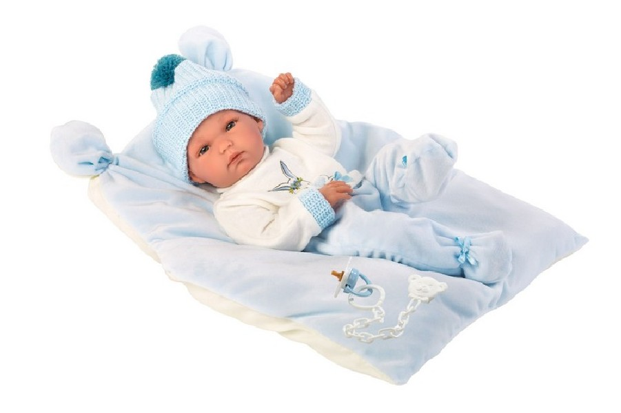 NEW BORN CHLAPEČEK - realistická panenka miminko 3