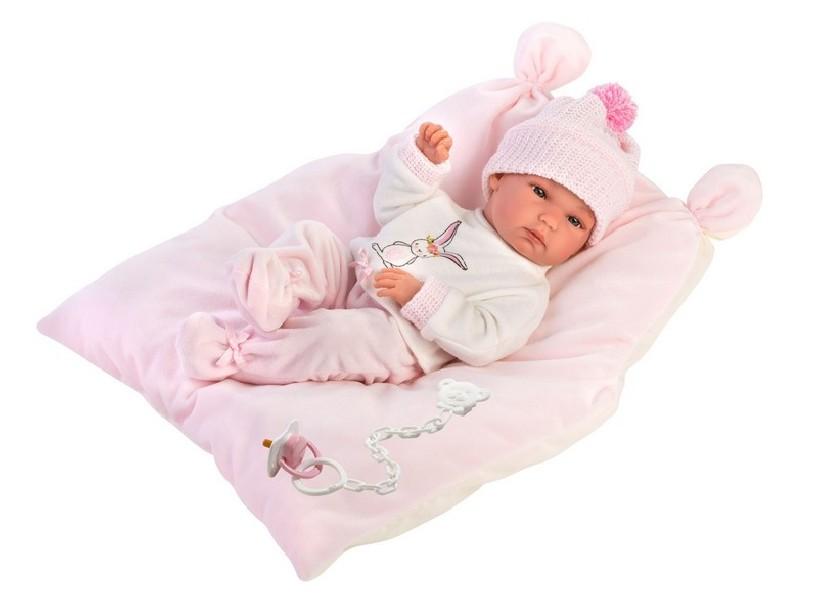 NEW BORN HOLČIČKA - realistická panenka miminko 35