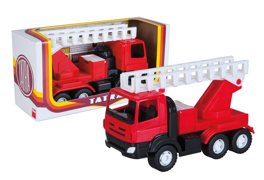 Auto Tatra Phoenix hasiči plast 30 cm
