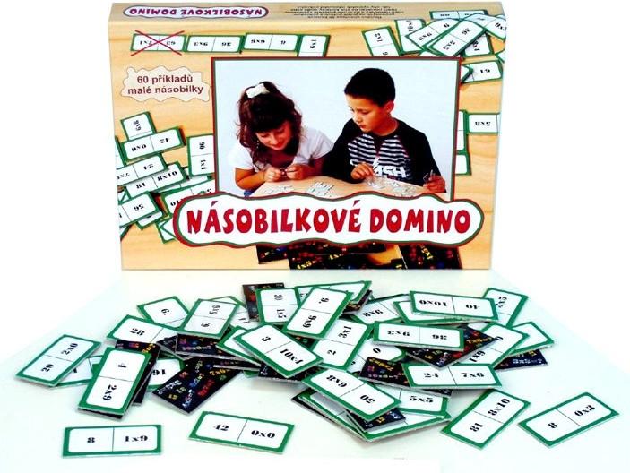 Hra Domino - násobilkové