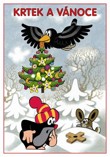 omalovánka A5 Krtek a Vánoce