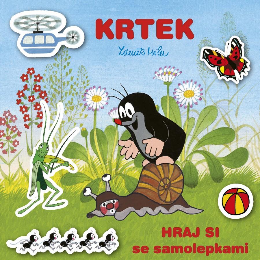 album obrázkové Krtek Hraj si se samolepkami