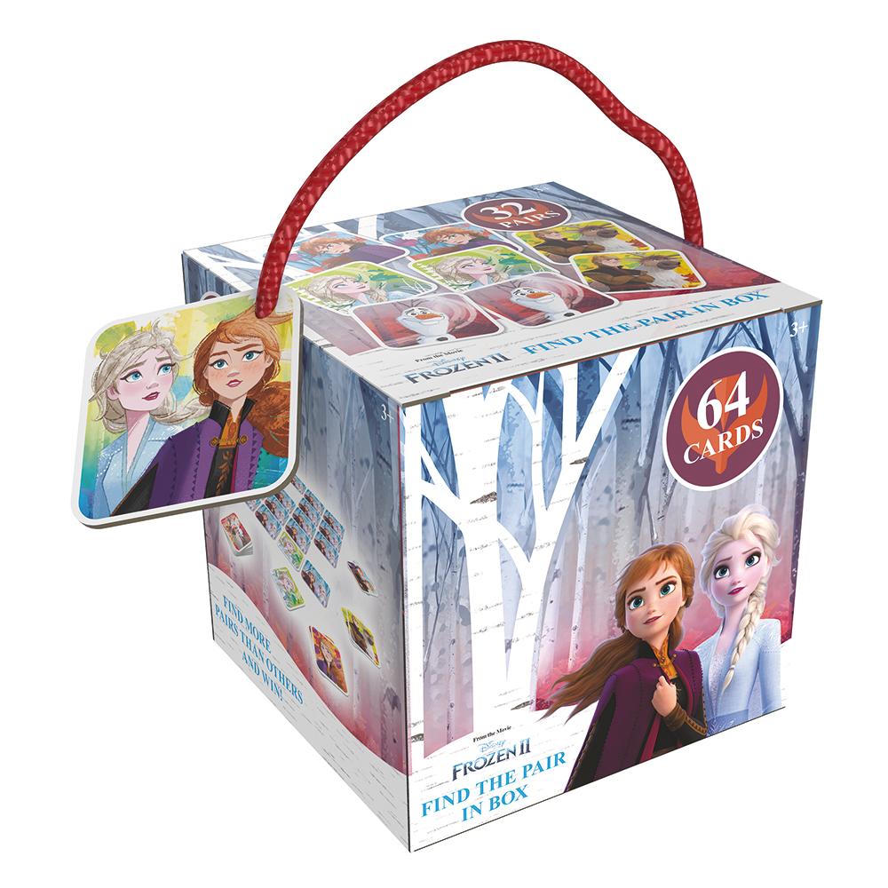 Pexeso na cesty Frozen 2 - Ledové království