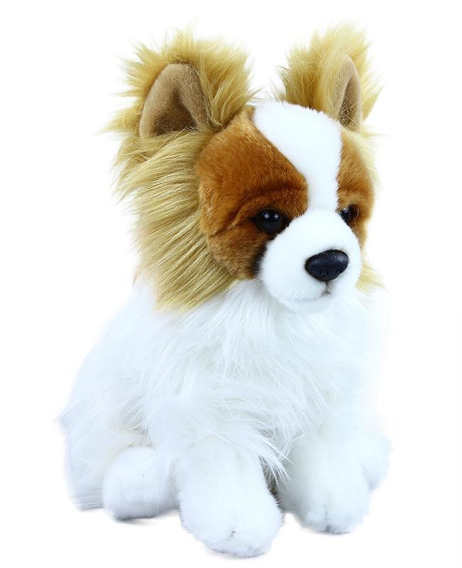 Plyšový pes čivava sedící 26 cm ECO-FRIENDLY
