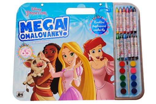 Omalovánka mega set Disney Princezny