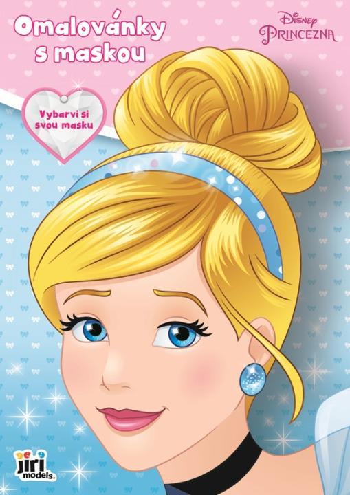 Omalovánka s maskou Disney Princezny