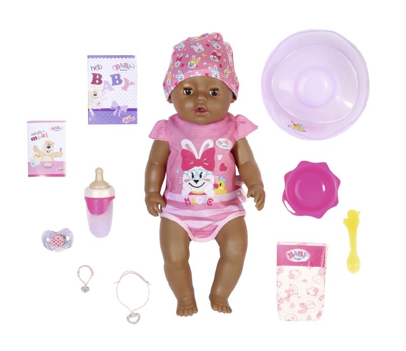 BABY born s kouzelným dudlíkem černoška 43 cm