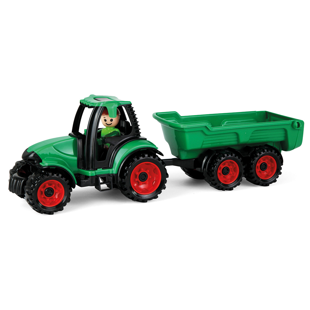 Auto Truckies traktor s vlečkou v krabici