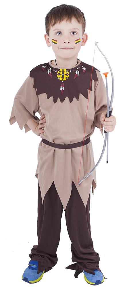 Dětský kostým Indián s páskem (S)
